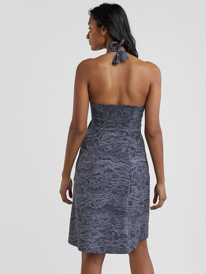Beck Halter Dress: Image 4