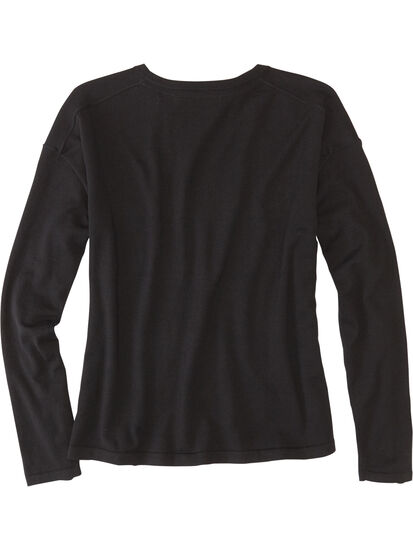 Synergy Crew Neck Sweater - Solid: Image 2