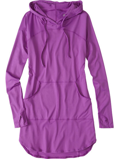 Blocker Hoodie Dress: Image 1