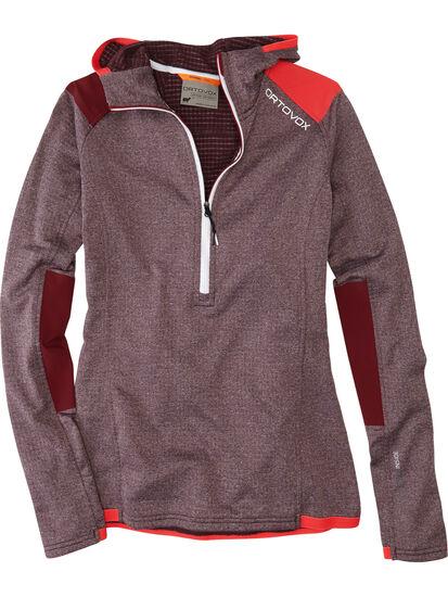 Splurge 1/4 Zip Fleece Hoodie: Image 1