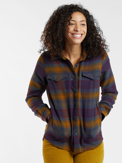 Recycled Lumberjill Shirt Jacket