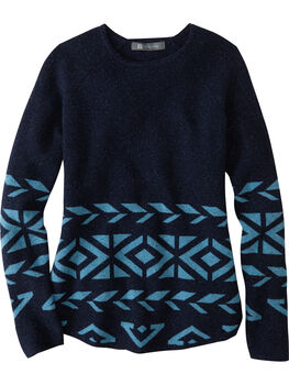 Por Vida 2.0 Sweater - Retro Geo