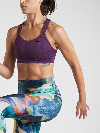 Fits-to-a-T Sports Bra: Image 1