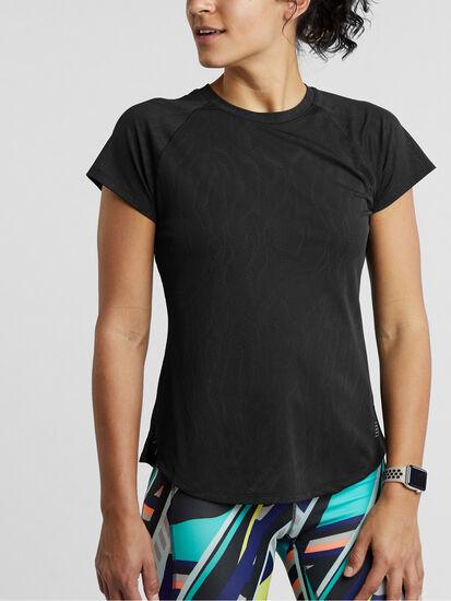 Marauder Short Sleeve Top: Model Image