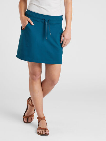 Breakthrough Skort - Solid: Model Image