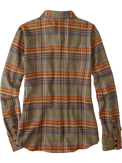 Timeless Flannel Long Sleeve Top: Image 2