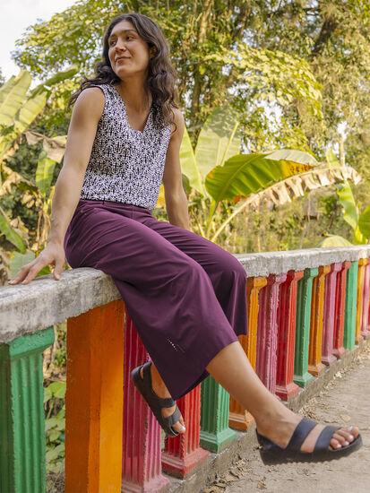 Round Trip Wide Leg Pants