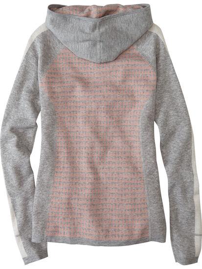 Super Power Full Zip Sweater - Houndstooth Geo: Image 2
