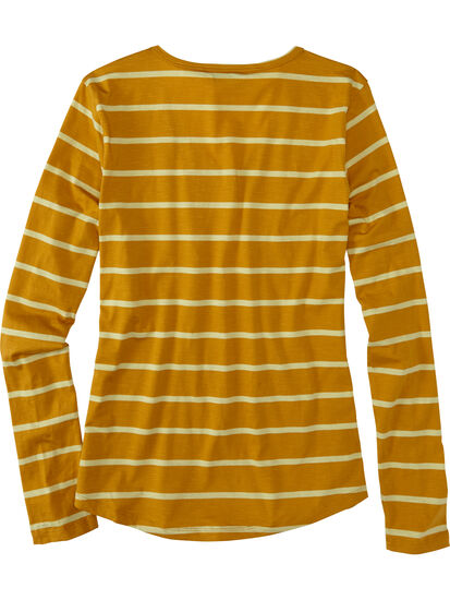 Samba V Neck Long Sleeve Tee: Image 2