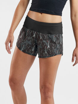 """Obsession Running Shorts 4"""" - Print"""