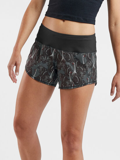 """Obsession Running Shorts 4"""" - Print: Image 1"""