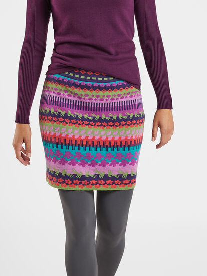 Ziggy Sweater Skirt - Orchid: Image 3