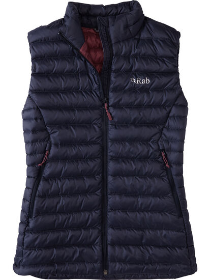Thermo Recycled Microlight Down Vest: Image 1