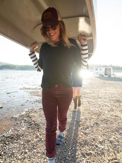 Synergy Crew Neck Sweater - Sleeve Stripe, , original