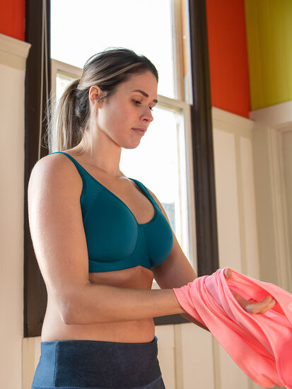 Cuz She Says So Underwire Sports Bra: Image 4