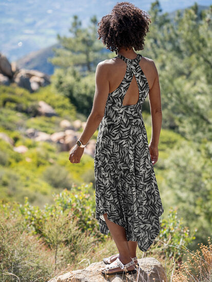 Liberty Maxi Dress: Model Image