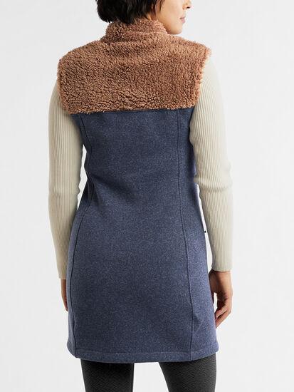Callitrix Fleece Vest Dress: Image 5