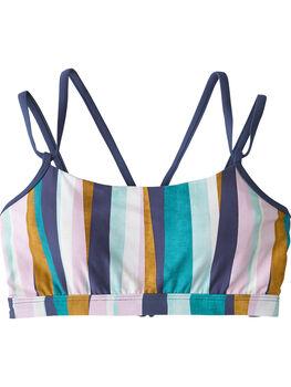 Mirage Bikini Top - Broken Stripes
