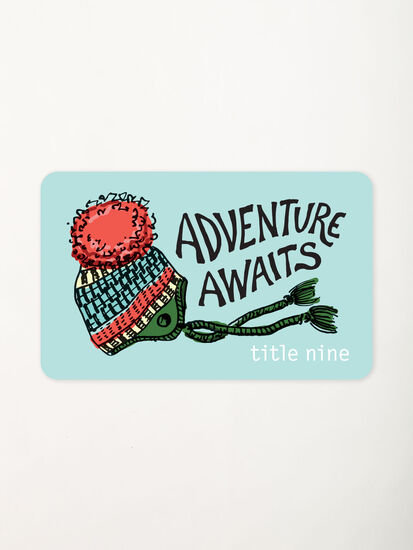 Title Nine Gift Card: Image 1