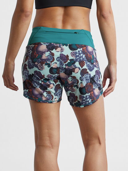 """Obsession Running Shorts 6"""" - Print: Image 2"""