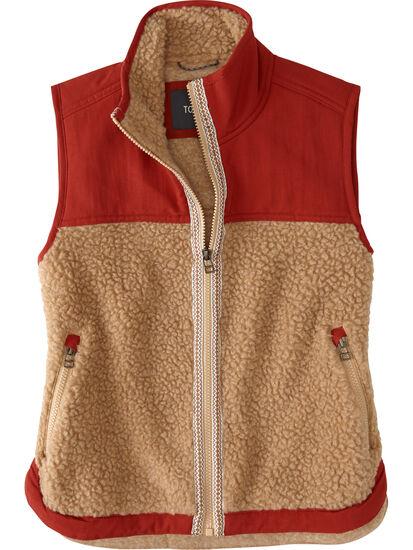 Mount Diablo Fleece Vest: Image 1