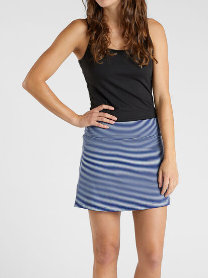 "Dream Skort 14"" - Stripe"