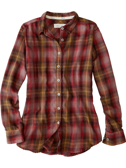 Singular Tech Flannel Shirt: Image 1