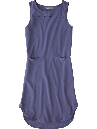 Cirrus Lasercut Dress - Crinkle: Image 1