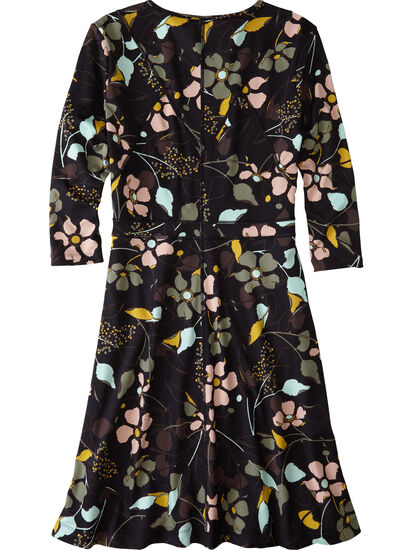 Dream 3/4 Sleeve Dress - Wild Juniper: Image 2