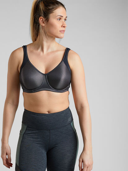 Seismic Underwire Sports Bra: Image 3