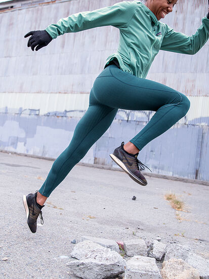 Herringbone Distance Run Tights: Image 8