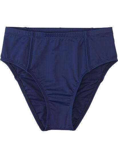 Francie High Waisted Bikini Bottom - Solid: Image 1