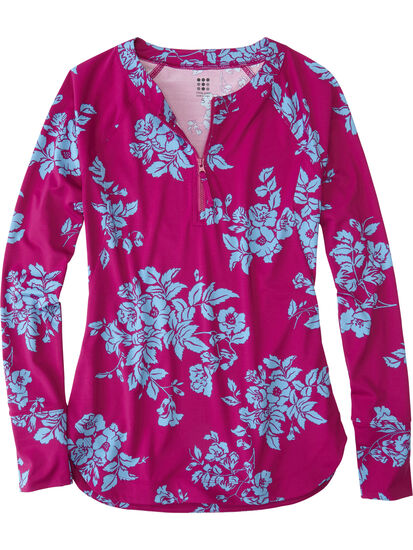Sunbuster 1/4 Zip Pullover - Waimea: Image 1