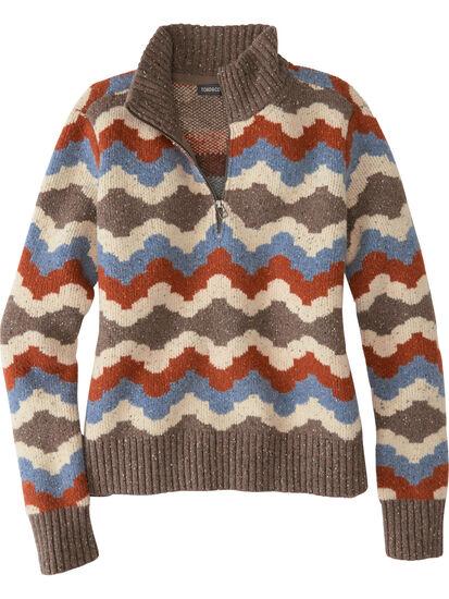 Woolma 1/4 Zip Sweater: Image 1