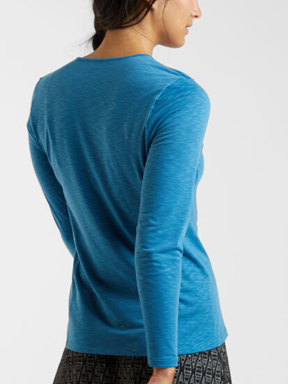Henerala Long Sleeve Top - Solid: Image 4