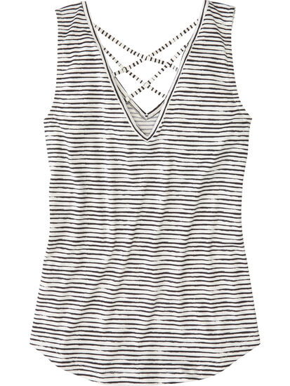 Yasumi Tank Top - Painted Stripe: Image 2
