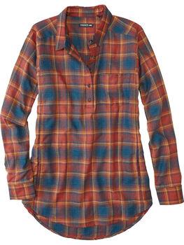 Plaiditude Droptail Long Sleeve Shirt