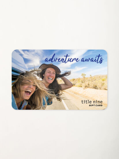 Title Nine Gift Card: Image 2
