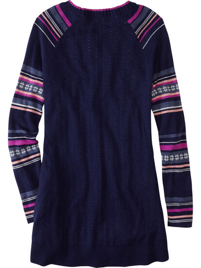 Mover-Maker Crew Neck Tunic Sweater: Image 2