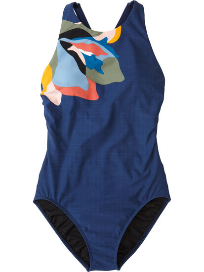 Woman Up One Piece Swimsuit - Flower Mix: Image 1