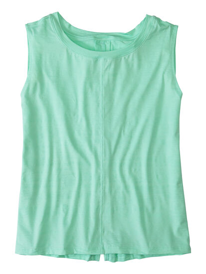 Phoenix Pleat Back Tank Top: Image 1