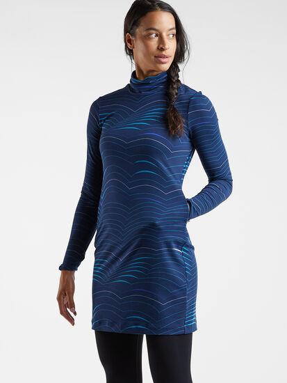 Getaway Long Sleeve Turtleneck Dress - Double Dutch: Image 3