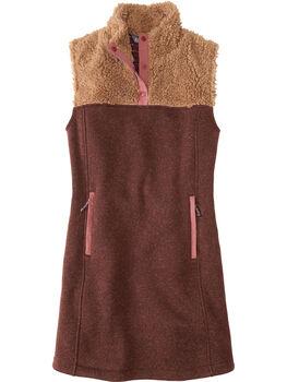 Callitrix Fleece Vest Dress