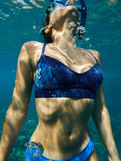 Streamline Bikini Top - Sand Dunes: Image 5