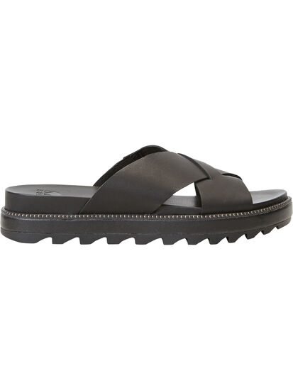 Mastery Slide Sandal - Black: Image 2