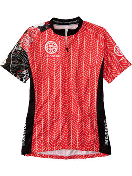 Ride Relentless Short Sleeve Cycling Jersey - Zen Garden