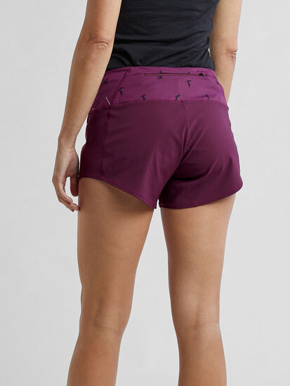 """Obsession Running Shorts 4"""" - Solid: Image 2"""