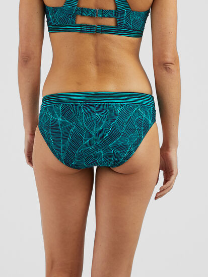 Lehua Bikini Bottom - Linear Leaf: Image 3