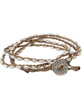 Grit Wrap Bracelet