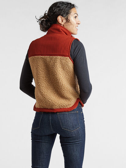 Mount Diablo Fleece Vest: Image 4